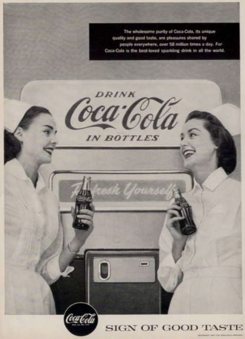 10 Vintage Coca-Cola Ads Using Nurses to Sell Soda