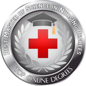 Badge - Best Master of Science in Nursing Degrees