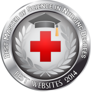 Badge - Best Master of Science in Nursing Degrees - Best Websites 2014