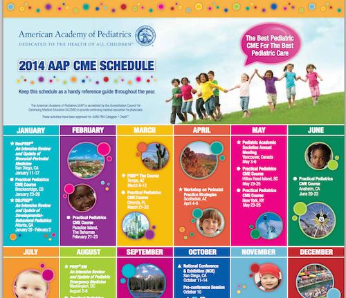 aap cme schedule