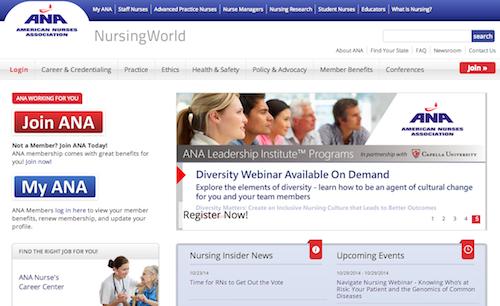 american nurses assoc
