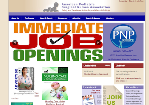 americna ped surgical nurses assoc