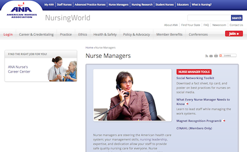 ana nurse managers