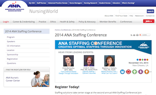 ana staffing conference