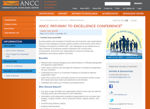 ancc pathway to excellence