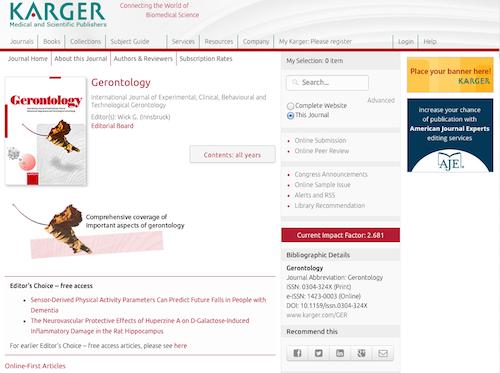 gerontologyt