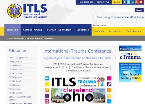 international trauma life support