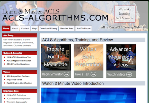 Learn & Master ACLS Membership Options | Learn & Master ...