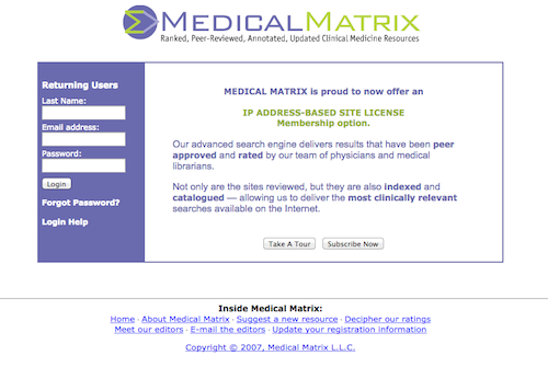 medical matrix