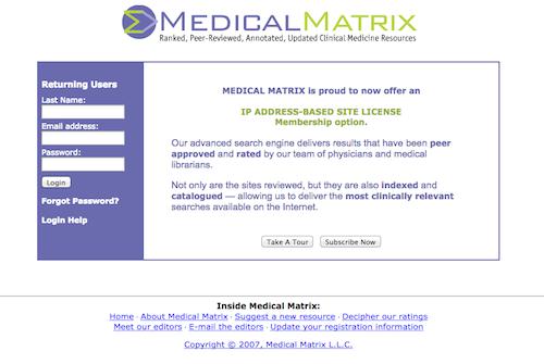 medical matrix