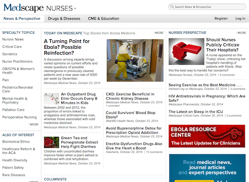 50 Great Websites for Nurse Managers