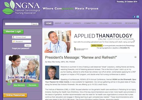national gerontological nursing assoc