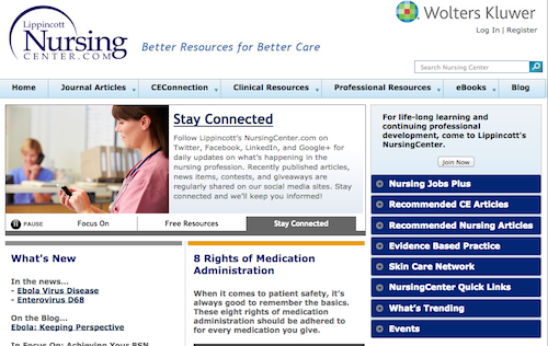 nursing center.com