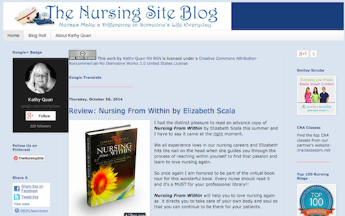 nursing site blog