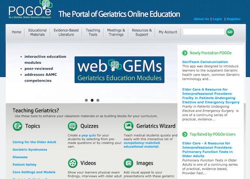 portal of geriatrics