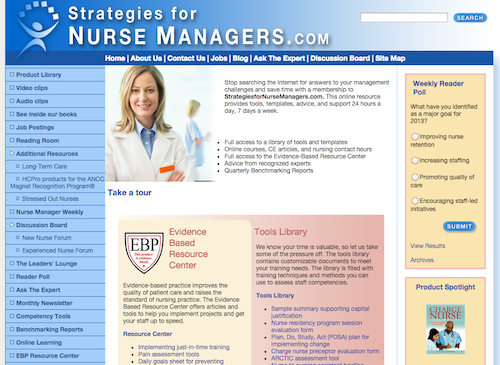 professional development of nurses