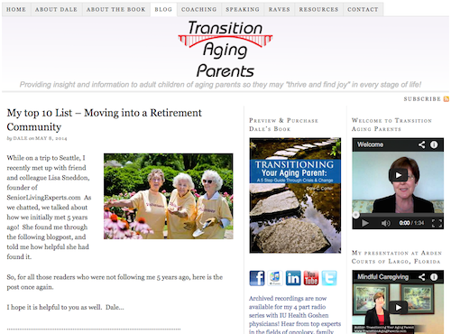 transition aging parents