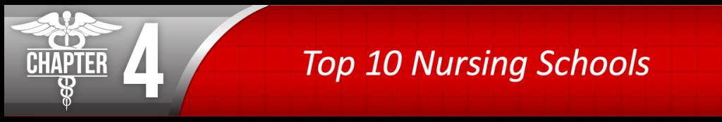 Chapter 4 - Top 10 Nursing Schools